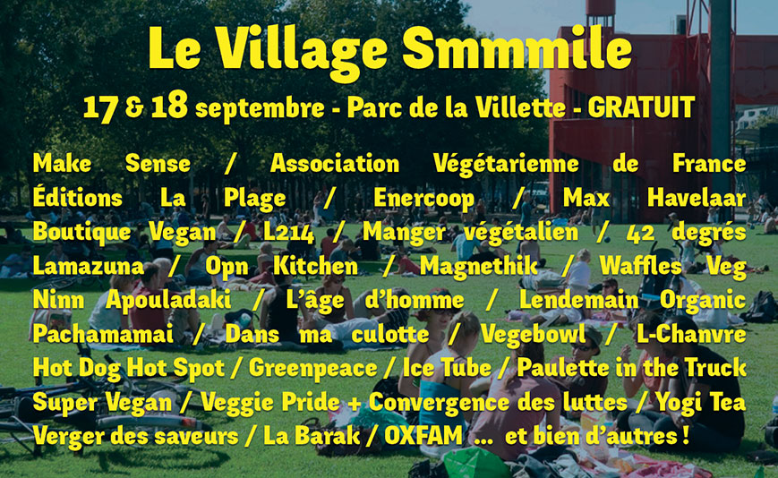 Les exposants du village Smmmile - GRATUIT