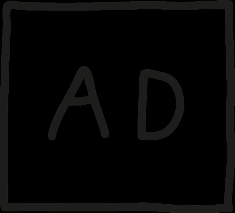 Logo AD - Aujourd'hui Demain
